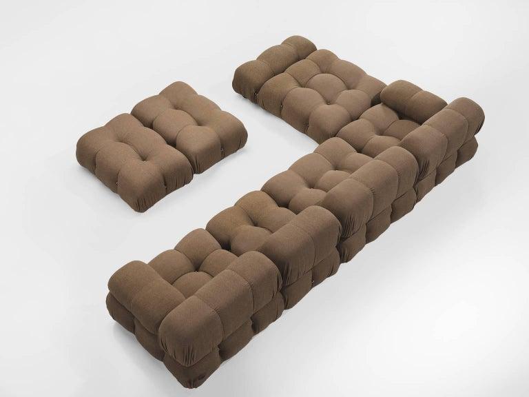 Italian Mario Bellini Original Fabric 'Camaleonda' Modular Sofa in Original Fabric