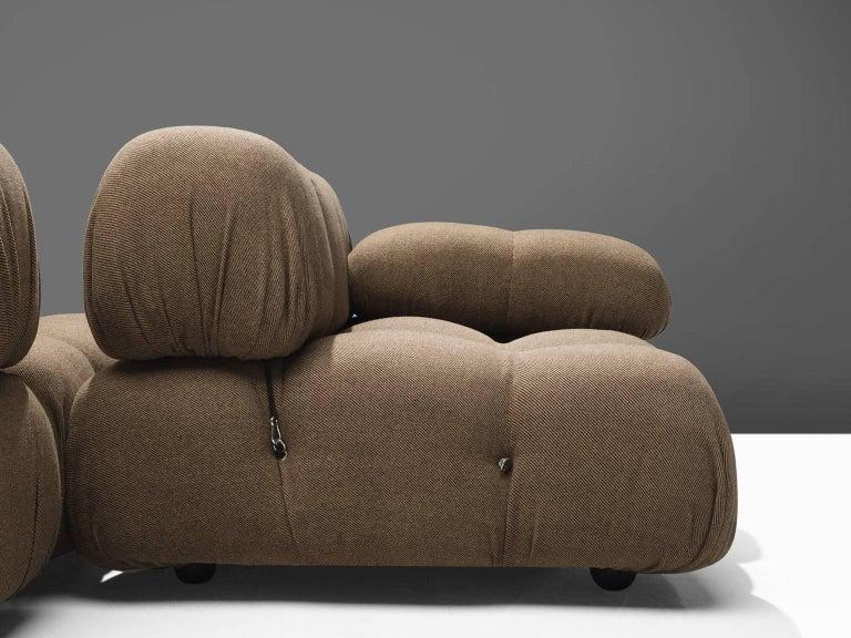 Late 20th Century Mario Bellini Original Fabric 'Camaleonda' Modular Sofa in Original Fabric