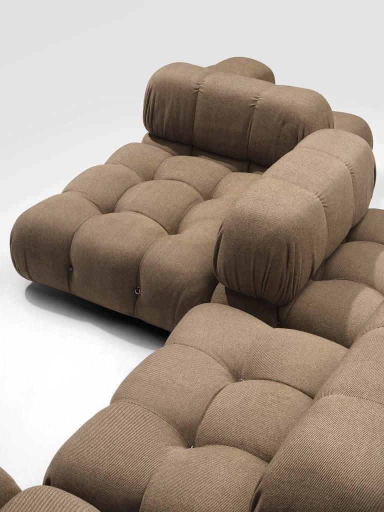 Mario Bellini Original Fabric 'Camaleonda' Modular Sofa in Original Fabric 1