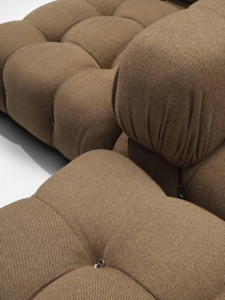 Mario Bellini Original Fabric 'Camaleonda' Modular Sofa in Original Fabric 2