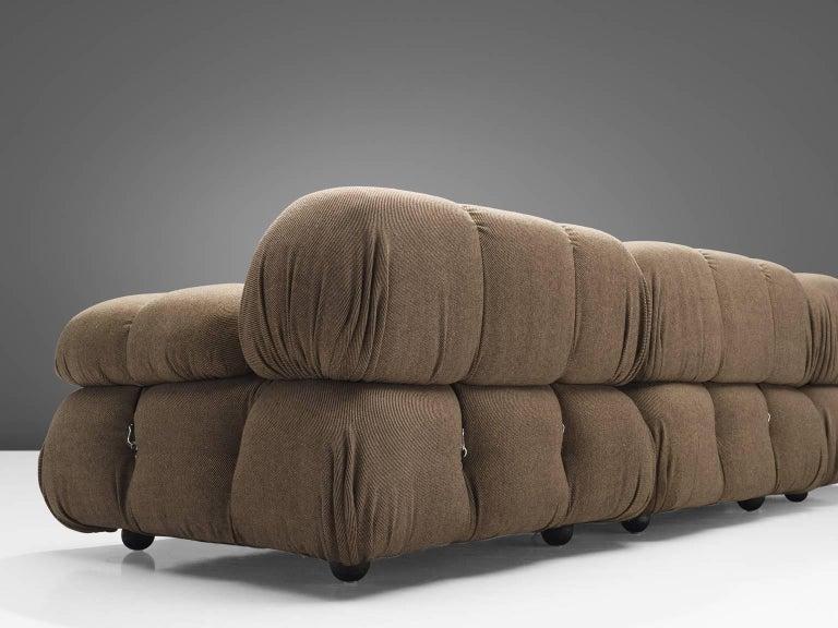 Mario Bellini Original Fabric 'Camaleonda' Modular Sofa in Original Fabric 3