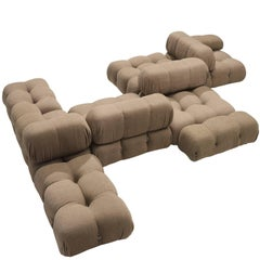 Mario Bellini Original Fabric 'Camaleonda' Modular Sofa in Original Fabric