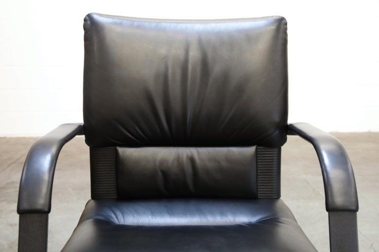 Mario Bellini Post-Modern Executive Desk Chair for Vitra, Signed and Dated 1992 For Sale 9