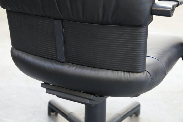 Mario Bellini Post-Modern Executive Desk Chair for Vitra, Signed and Dated 1992 For Sale 12