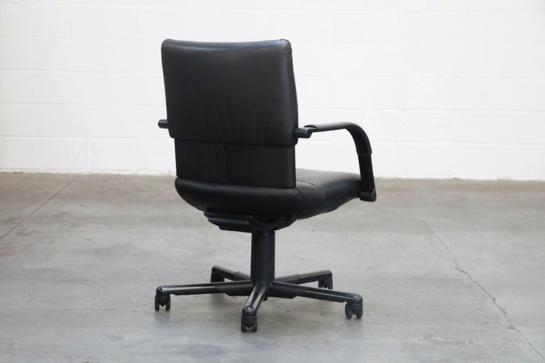 Mario Bellini Post-Modern Executive Desk Chair for Vitra, Signed and Dated 1992 For Sale 1
