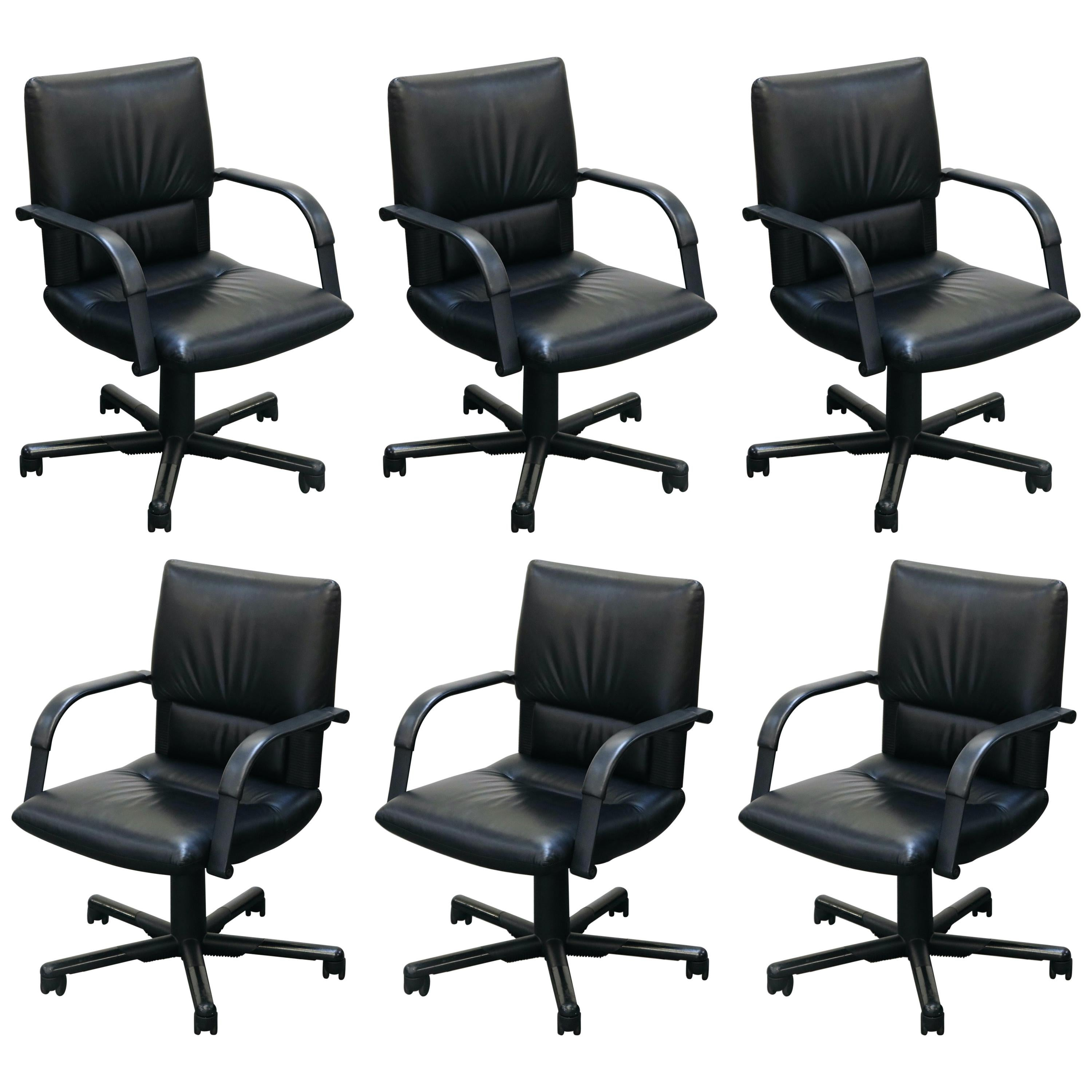 Mario Bellini Post-Modern Executive Desk Chair for Vitra, Signed and Dated 1992