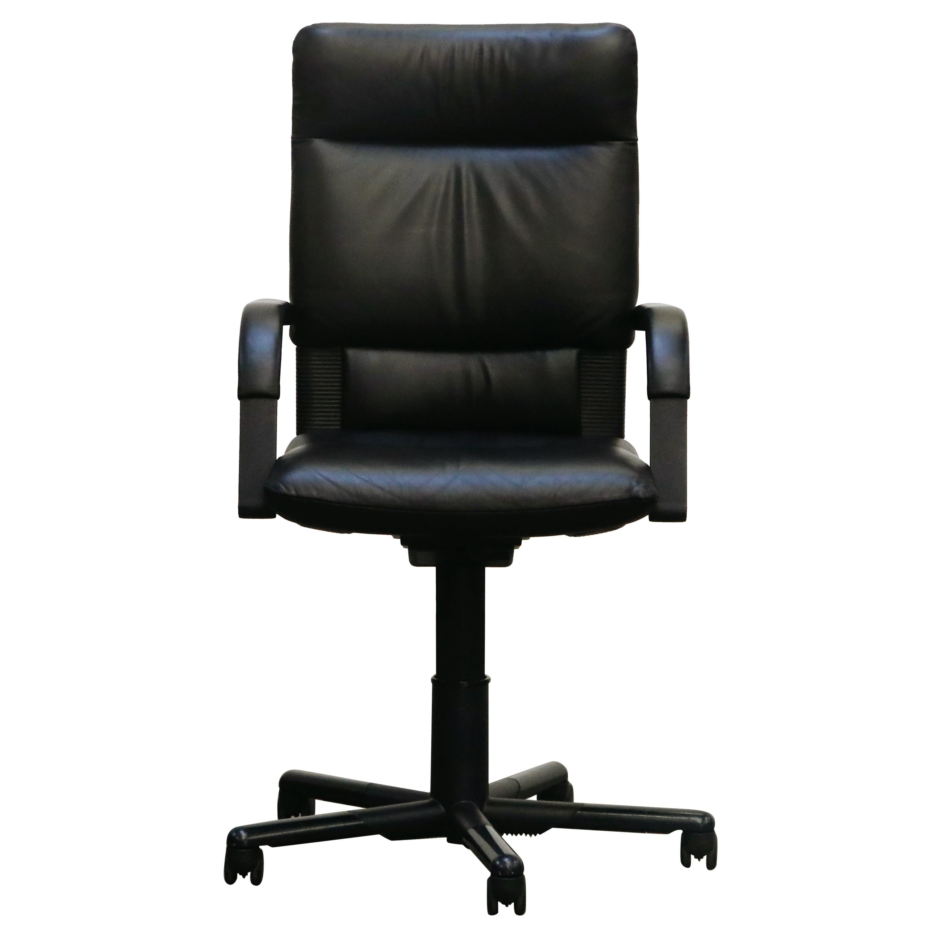 Mario Bellini Post-Modern Highback Desk Chair for Vitra, Signed and Dated 1993