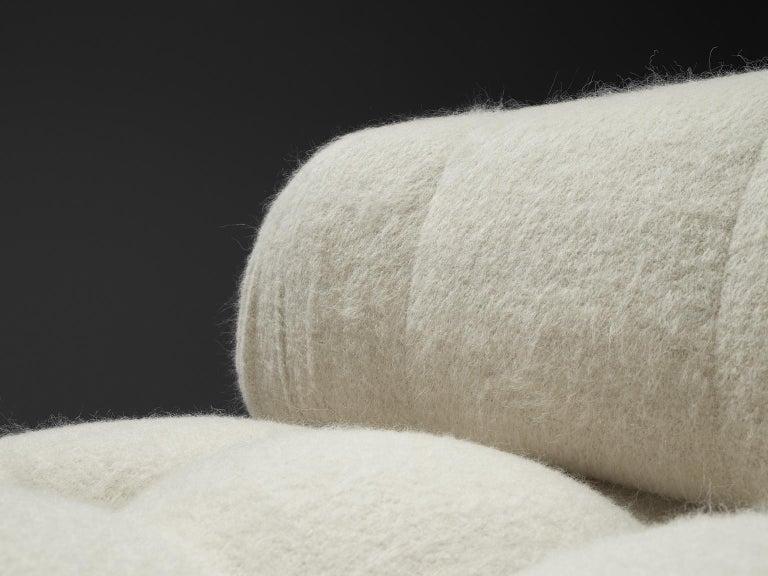 Mario Bellini Reupholstered Camaleonda Elements in Pierre Frey Wool For Sale 2