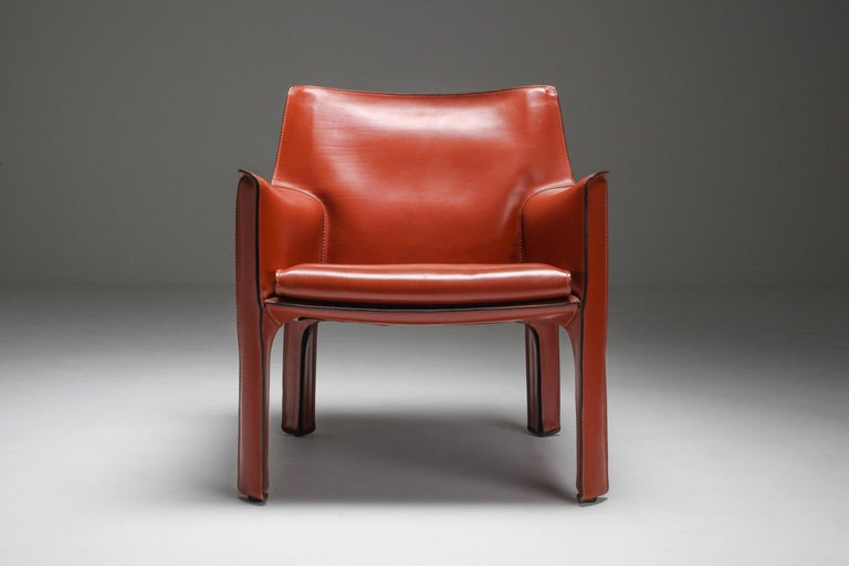 Mario Bellini's CAB Armchair 414 for Cassina Italy For Sale 5