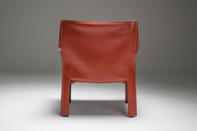 Mario Bellini's CAB Armchair 414 for Cassina Italy For Sale 6