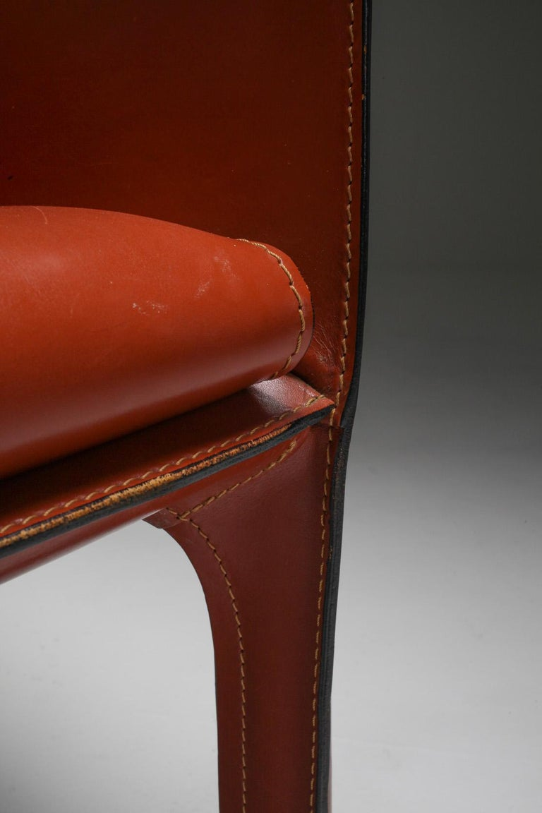 Mario Bellini's CAB Armchair 414 for Cassina Italy For Sale 7