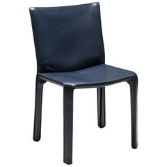 Mario Bellini's CAB Chair in Navy Blue