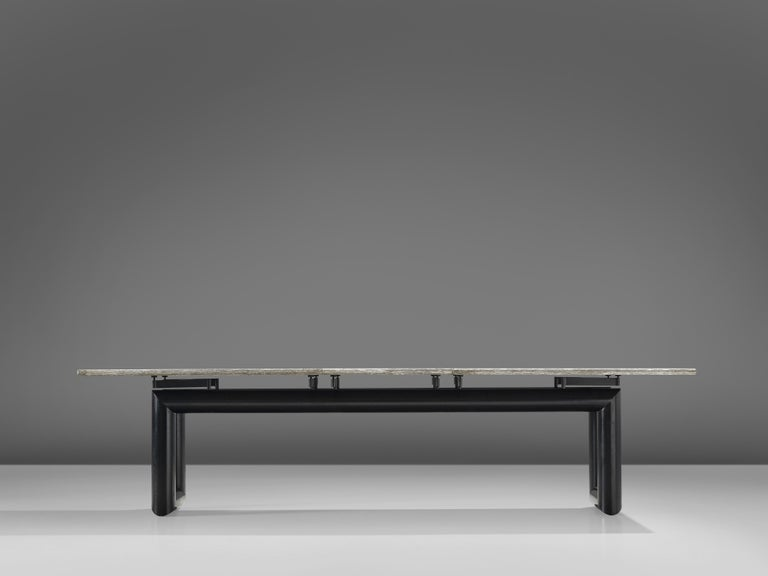Mario Botta Dining Table Model 'Terzo' with Granite Top For Sale 1