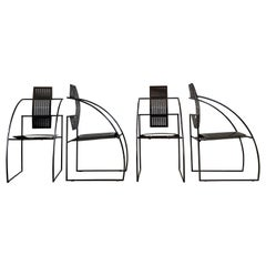 "Mario Botta ""Quinta"" Chairs for Alias, 1985, Set of 4"