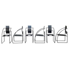 "Mario Botta ""Quinta"" Chairs for Alias, 1985, Set of 6"