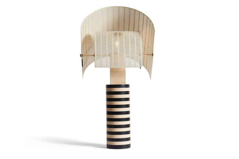 Italian Mario Botta Table Lamp For Sale