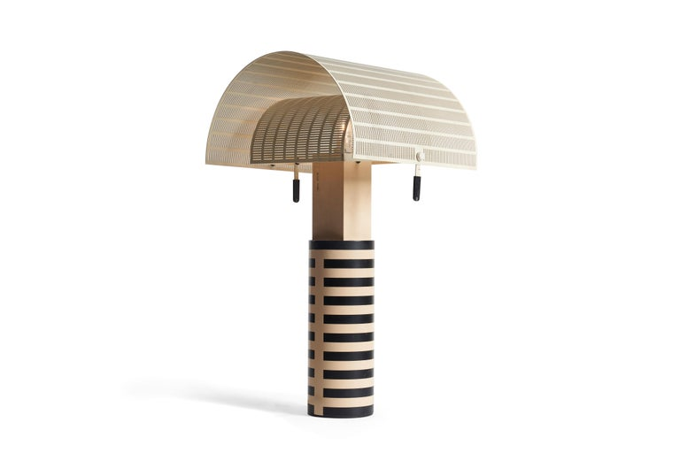 Mario Botta Table Lamp In Good Condition For Sale In Chicago, IL