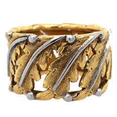 Mario Buccellati 18 Karat Gold Ring