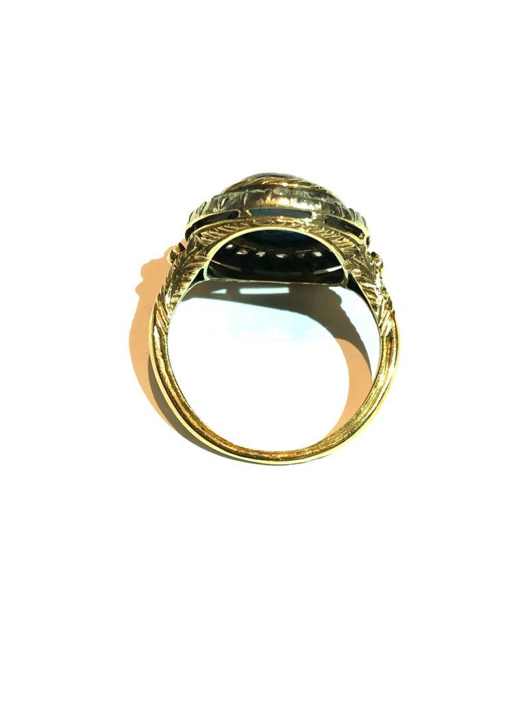 Mario Buccellati 1929 Ring for Gabriele d'Annunzio In Excellent Condition For Sale In Monte Carlo, MC