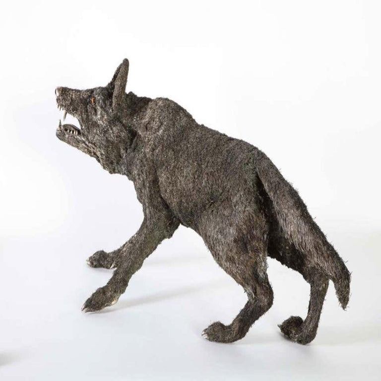 Mario Buccellati a Rare and Exceptional Nearly Life-Size Silver Wolf, circa 1970 For Sale 8