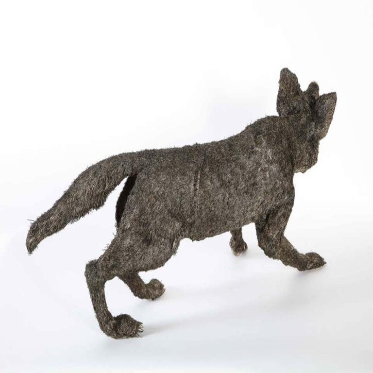 Mario Buccellati a Rare and Exceptional Nearly Life-Size Silver Wolf, circa 1970 For Sale 10