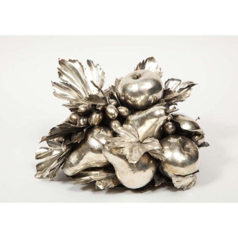 Mario Buccellati, an Italian Silver Fruit Basket Centerpiece 10