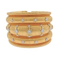 Mario Buccellati Magnificent Diamond Gold Bracelet