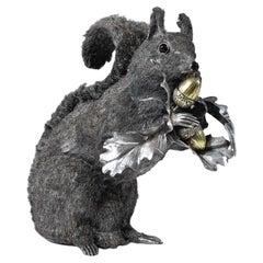 Mario Buccellati Silver Squirrel