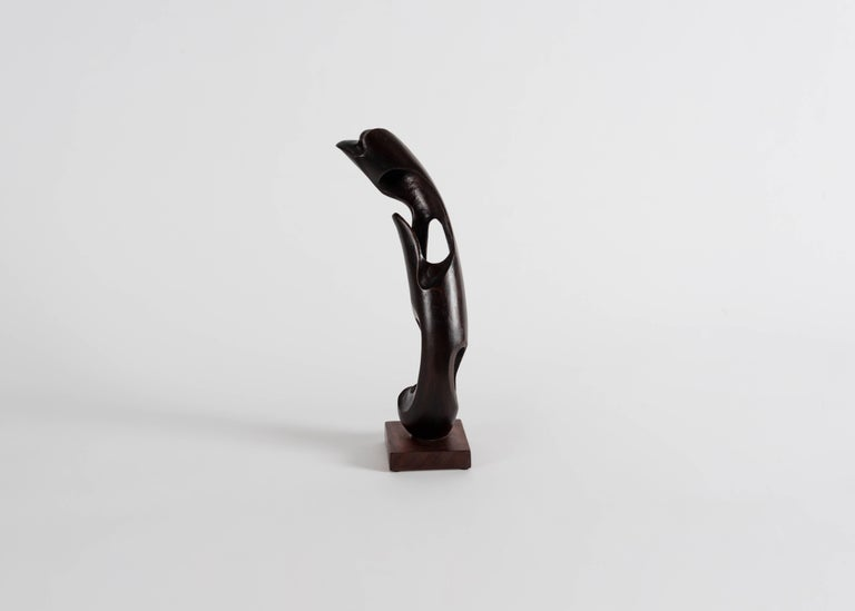 Signed: Mario Dal Fabbro, 1983 Marked: I. 8  Typical of the sculptural output of dal Fabbro, the lines of this piece shift rhythmically depending on the viewer's position. The artist plays with the relationship between space and form,