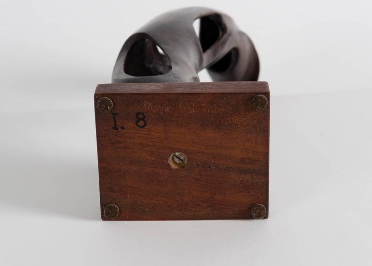 20th Century Mario Dal Fabbro, Sculpture, United States, 1983 For Sale