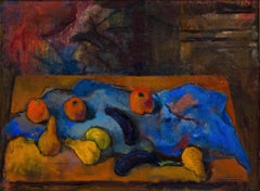 Natura morta, Mario Mafai (20th Century Expressionist Still-Life Painting)