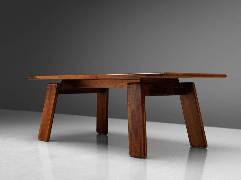 Mario Marenco for Mobilgirgi Dining Table in Walnut 1