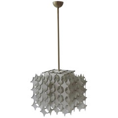 Mario Marenco Kinetic Ceiling Lamp Mod. Cynthia for Artemide, Italy, 1968