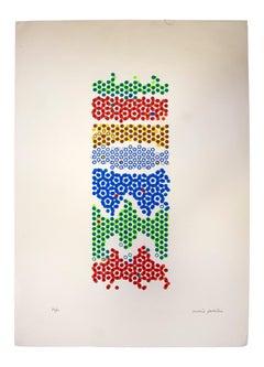 Precious Reflections - Original Screen Print by Mario Padovan - 1970s