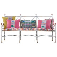 Mario Papperzini for Salterini Style Garden Bench or Sofa