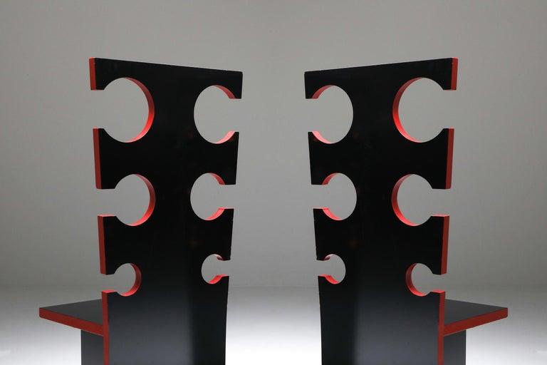 Italian Mario Sabot Sculptural Chairs by Max Papiri For Sale