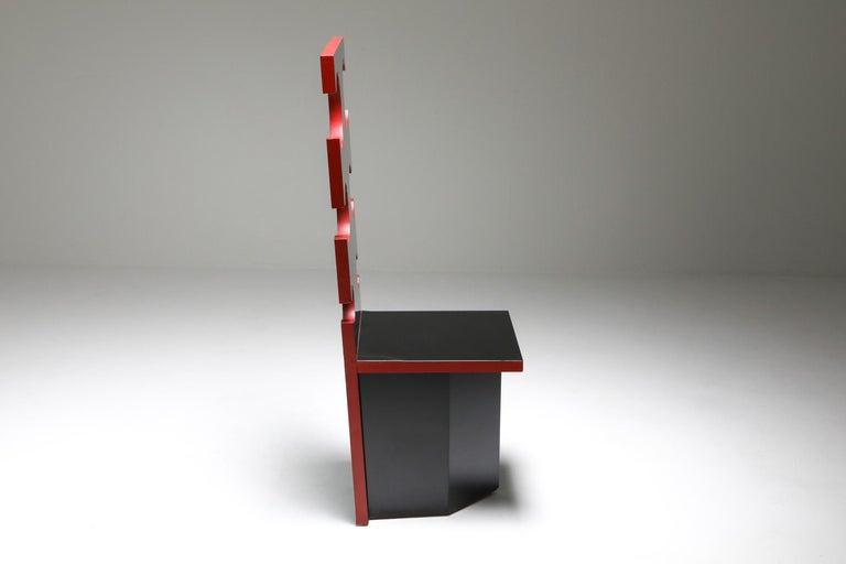 Mario Sabot Sculptural Chairs by Max Papiri For Sale 2