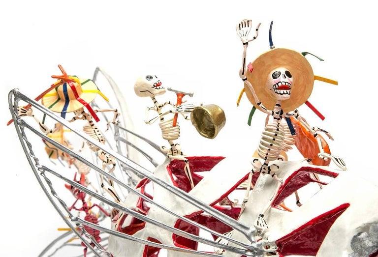 28'' Algo de Michoacan / Carton, Paper and Tin Sculpture Mexican Folk Art  For Sale 2