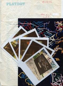 5 Polaroids by Mario Schifano - 1990s