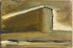 20th Century Futurism Style Mario Sironi Casamento Tempera on Papel on Canvas