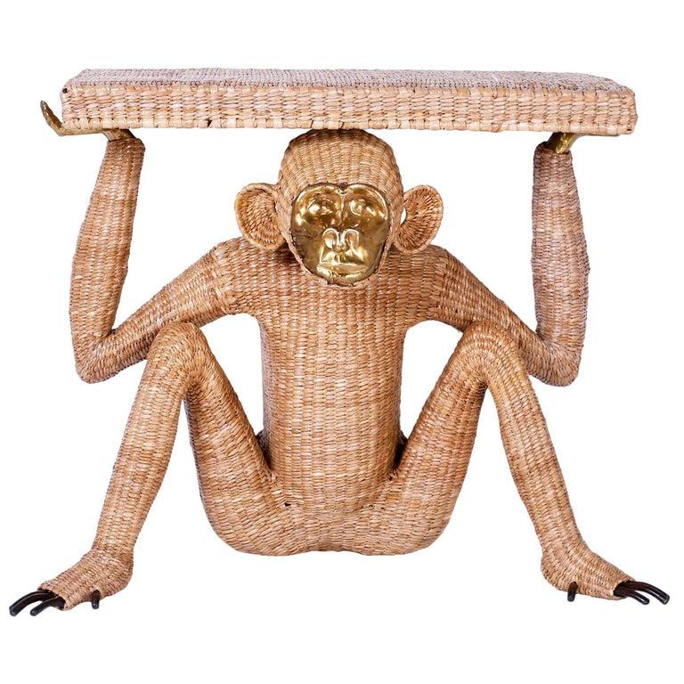 Mario Torres Brass Face Monkey Console