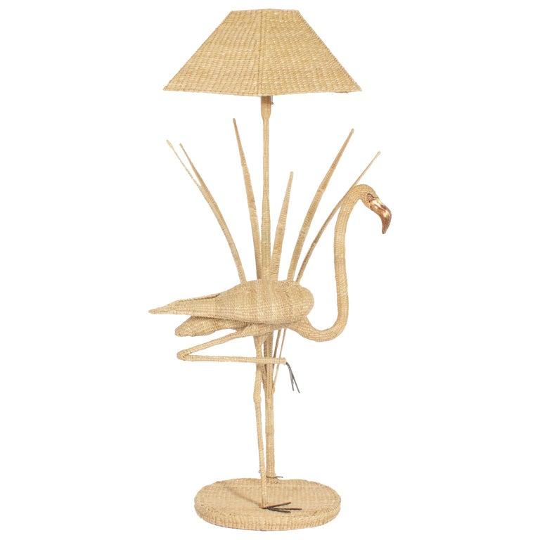 Mario Torres Parrot Floor Lamp at 1stDibs