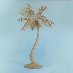 Mario Torres Large Palm Tree Floor Lamp