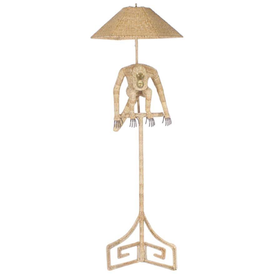 Mario Torres Monkey Floor Lamp