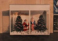 Santa Claus and Uncle Sam, Festival of Lights, Niagara Falls