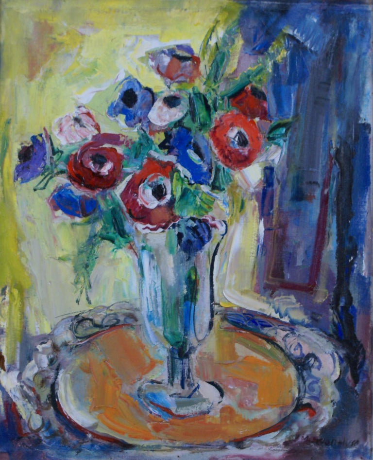 Bouquet - Painting by Marion Huse