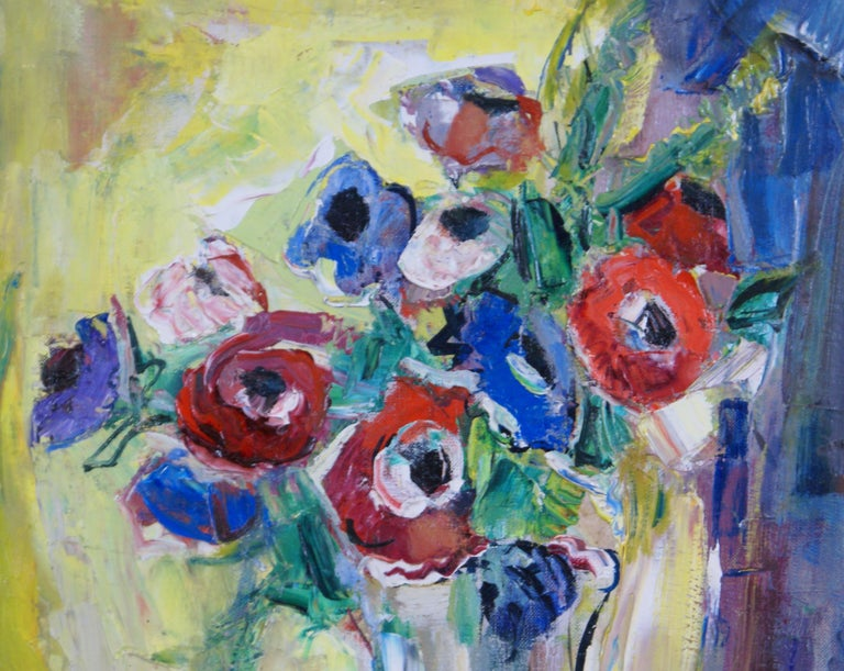 Bouquet - Abstract Impressionist Painting by Marion Huse