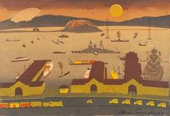 'San Francisco Harbor', SFAA, MOMA, de Young Museum, San Francisco Woman Artist