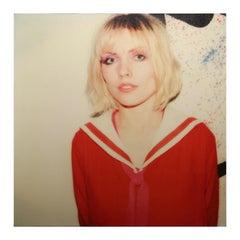 """Debbie Harry"" Square Polaroid SX-70 Photograph Portrait Printed on Canvas"