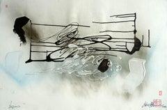 Dream. 2020. Paper, mixed media, 63x94 cm